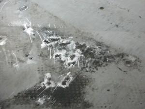 Lotus Elise Alu Korrosion unter den Fußmatten footwell corrosion