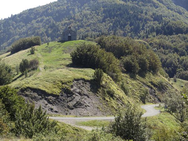 Kapelle an der Grenze zwischen den Regionen Massa Carrara und Parma