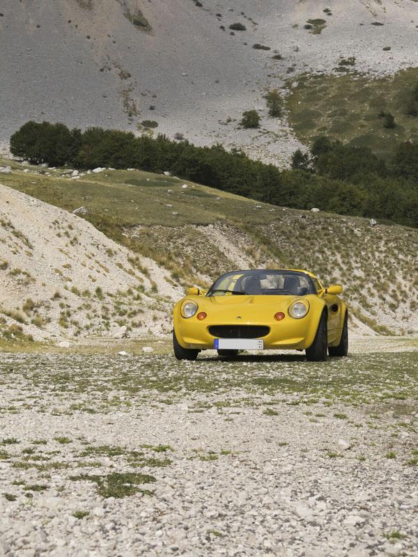 Lotus Elise in Italien - Tour 2014