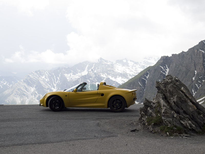 Lotus Elise Colle dell'Agnello