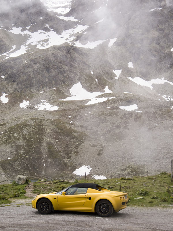Lotus Elise Julierpass