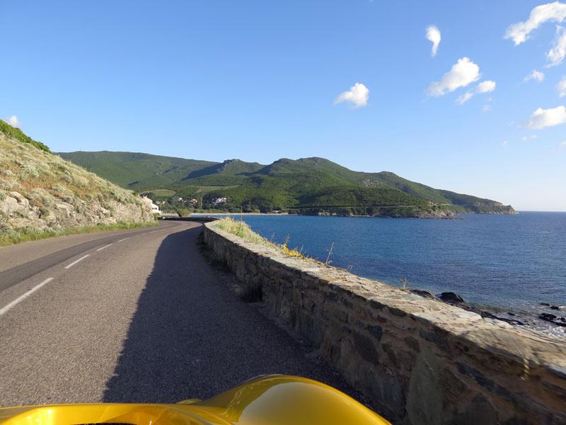 Lotus Elise am Cap Corse Korsika