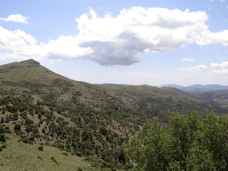 Ausblick vom Passo di Correboi