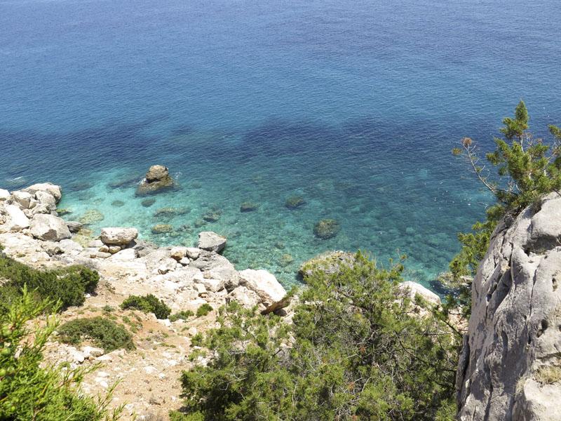 Küste zwischen Sta. Maria Navarrese und Pedralonga