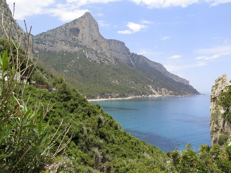 Blick vom Pedralonga Richtung Punta Calettino