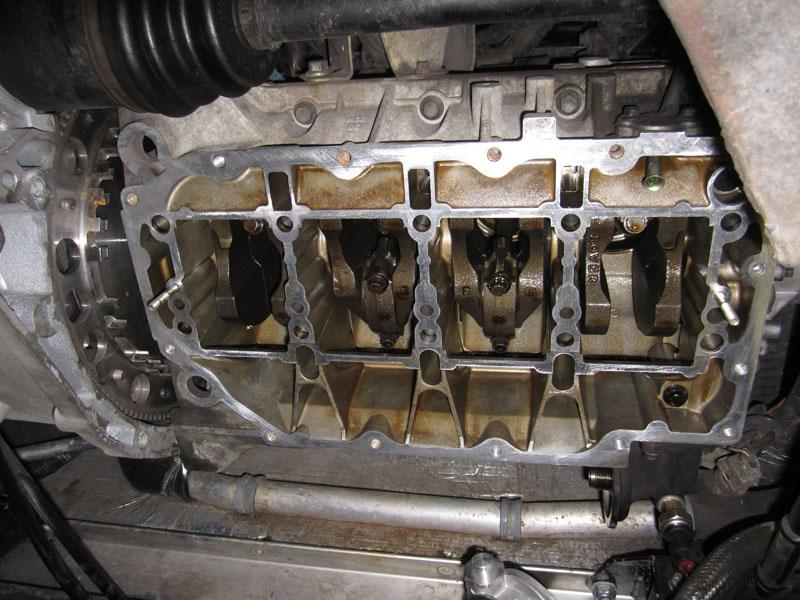 Rover-K ohne Ölwanne