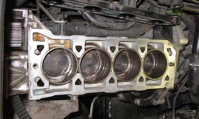 Rover-K ohne Zylinderkopf