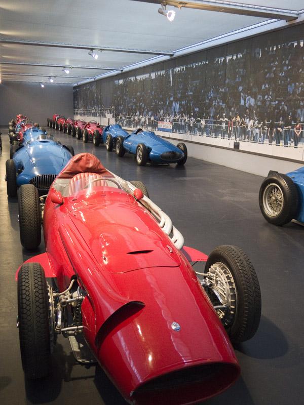 historische Formel 1 Fahrzeuge