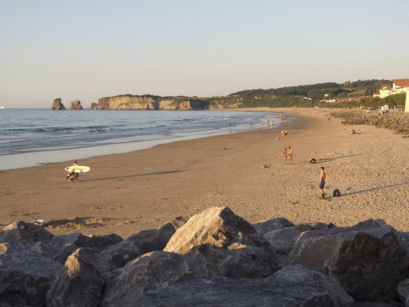 Strand von Hendaye