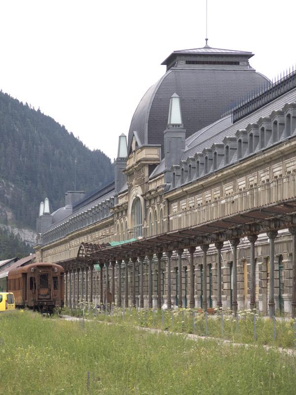Bahnhof von Canfranc-Estacion
