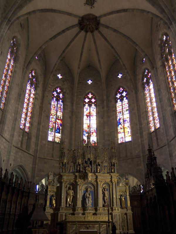 Altarraum von Notre-Dame Saint-Bertrand-de-Comminges