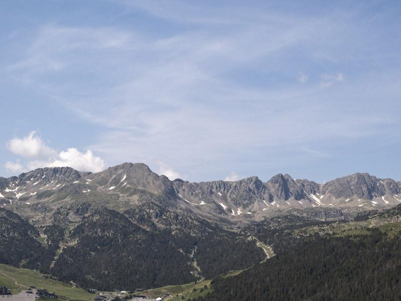 Blick vom Port D'Envalira nach Südwesten