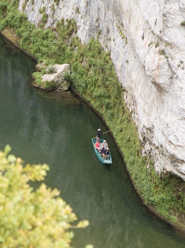 Bootsfahrt auf dem Tarn