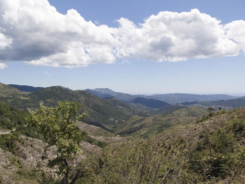Blick vom Col du Savel