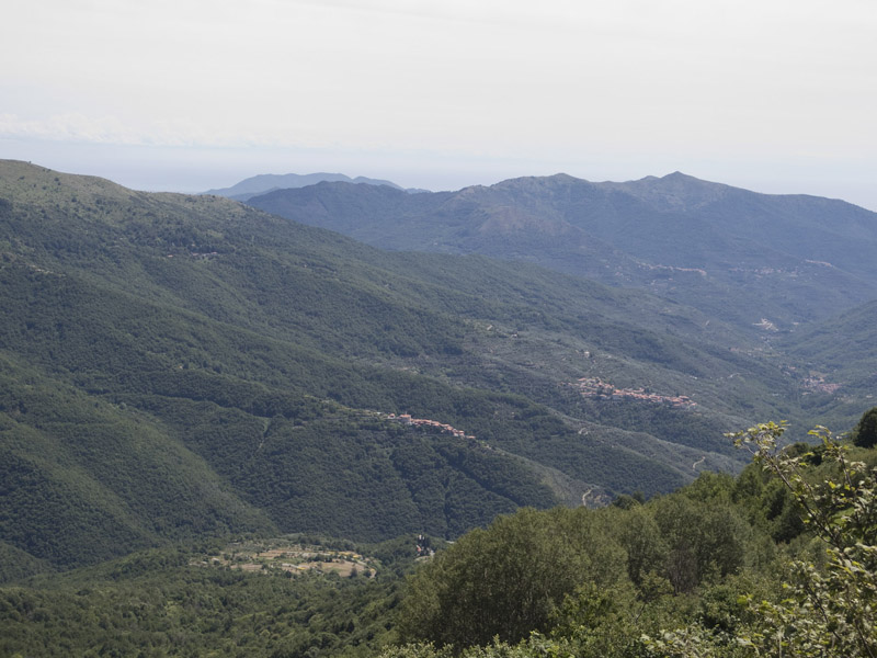 Blick vom Colle d'Oggia